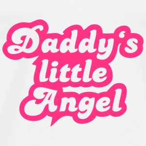 Daddy's little angel T-Shirts - Männer Premium T-Shirt