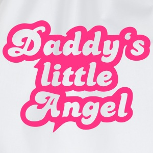 Daddy's little angel T-Shirts - Drawstring Bag