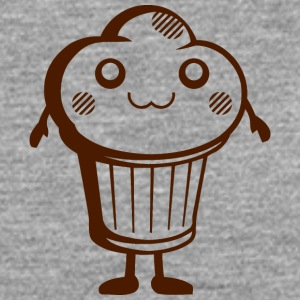 DS Kawaii Designs: süßer Muffin Tee shirts - T-shirt manches longues Premium Homme