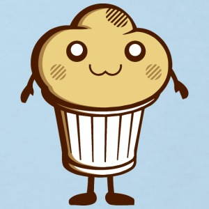 DS Kawaii Designs: süßer Muffin Shirts - Kinderen Bio-T-shirt