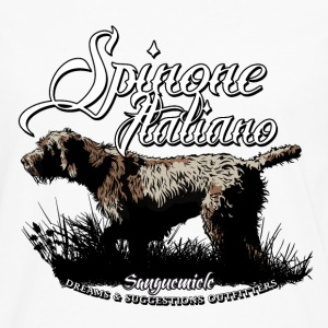 spinone_italiano_pointing T-Shirts - Men's Premium Longsleeve Shirt