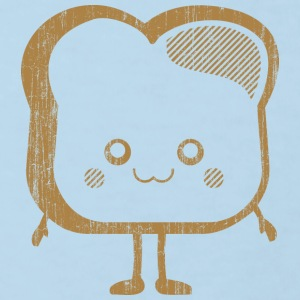 DS Kawaii Designs: Toastscheibe T-shirts - Organic børne shirt