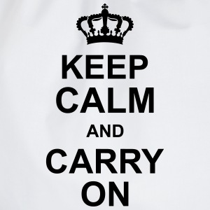 keep_calm_and_carry_on_g1 Tee shirts - Sac de sport léger