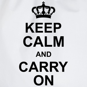 keep_calm_and_carry_on_g1 T-Shirts - Turnbeutel