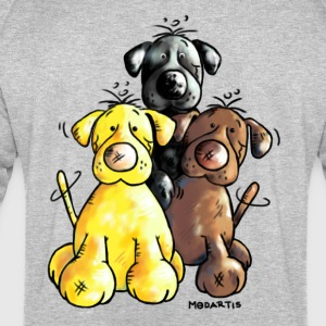 Labrador Retriever - Dog - Cartoon T-Shirts - Men's Sweatshirt by Stanley & Stella