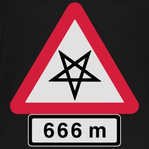 The Route of the Sinners at the Wheel. 666 Meters. - Men's Premium T-Shirt