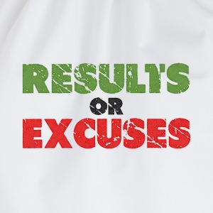 Resultaten of Excuses | Vintage Style T-shirts - Gymtas