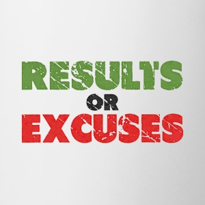 Resultaten of Excuses | Vintage Style T-shirts - Mok