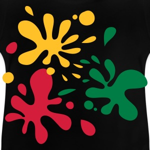 Paint Splats - Baby T-Shirt