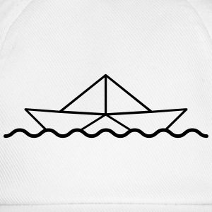 Swimming Paper Boat T-Shirts - Baseball Cap