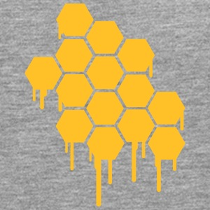 Honeycombs Pattern T-Shirts - Men's Premium Longsleeve Shirt