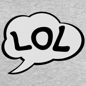 Speech Bubble LOL T-shirts - Mannen sweatshirt van Stanley & Stella