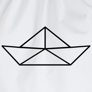 Paper Boat T-Shirts - Drawstring Bag