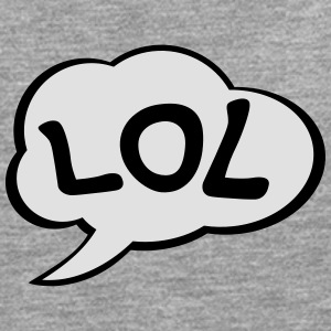 Speech Bubble LOL T-shirts - Mannen Premium shirt met lange mouwen