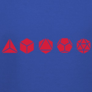 Platonic Solids, Sacred Geometry, Mathematics T-Shirts - Kids' Premium Hoodie