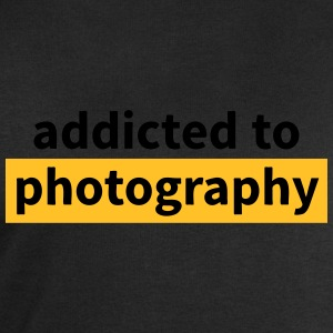 addicted to photography verslaafd aan fotografie Shirts - Mannen sweatshirt van Stanley & Stella