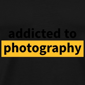 addicted to photography Bags & backpacks - Men's Premium T-Shirt