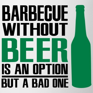 Barbecue without beer is an option but a bad one Förkläden - Mugg