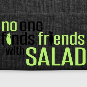 No one finds friends with salad Grembiuli - Cappellino invernale