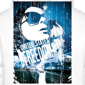 United States of Freedom - Men's Premium Hoodie