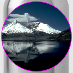 Nature - Mountains - Forest - Photography - Cool T-Shirts - Water Bottle