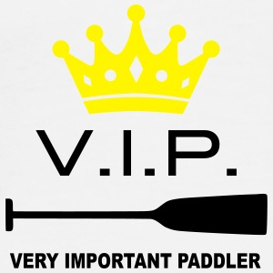 VIP Very Important Paddler Drachenboot Kanu 1c Handy & Tablet Hüllen - Männer Premium T-Shirt