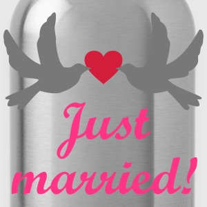 Just married Hochzeitsreise heiraten  T-Shirts - Trinkflasche
