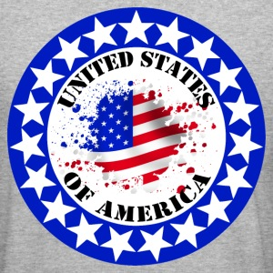 usa united states 08 Sweat-shirts - Tee shirt près du corps Homme