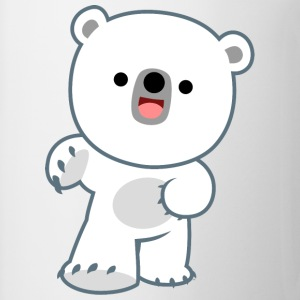 Cute Laughing Polar Bear Cub by Cheerful Madness!! Underwear - Mug