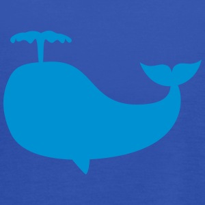 whale hval T-shirts - Dame tanktop fra Bella