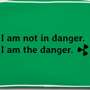 I am not in danger. I am the danger. jeg er ikke i fare. jeg er i fare. T-shirts - Retro taske