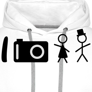 I take photos of people T-Shirts - Männer Premium Hoodie