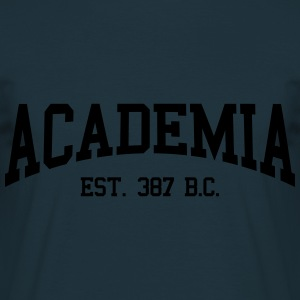 Academia - EST. 387 B.C. Hoodies & Sweatshirts - Men's T-Shirt