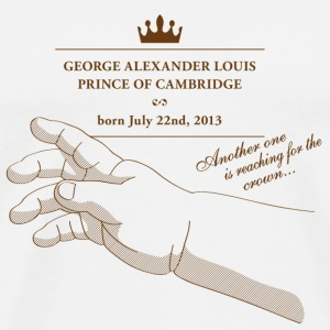 George Alexander Louis Buttons - Men's Premium T-Shirt