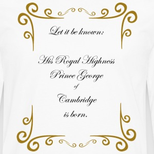 Prince of Cambridge T-Shirts - Men's Premium Longsleeve Shirt