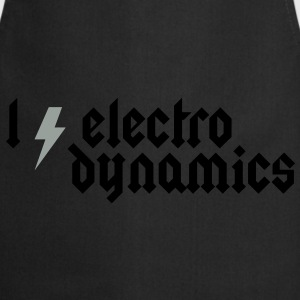 I love Electrodynamics - Heavy Metal Style Hoodies & Sweatshirts - Cooking Apron