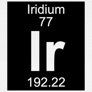 Iridium (Ir) (element 77) - Baseball Cap