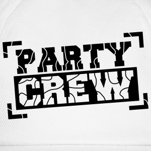 Party Crew Design T-skjorter - Baseballcap
