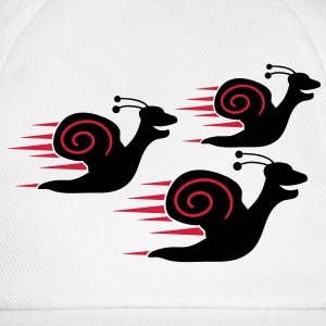 Snail Race T-Shirts - Baseball Cap