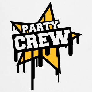 Party Crew T-shirts - Keukenschort