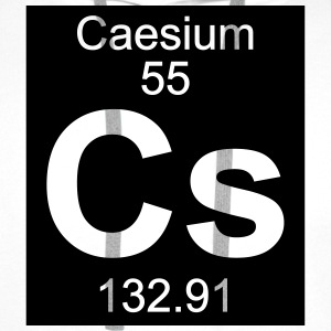 Element  55 - cs (caesium) - Inverse (Full) T-shirts - Premiumluvtröja herr