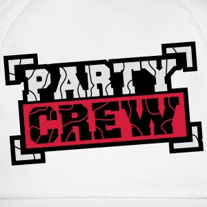 Party Crew Design Camisetas - Gorra béisbol