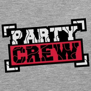 Party Crew Design Camisetas - Camiseta de manga larga premium hombre