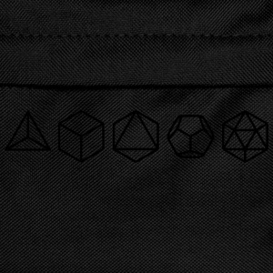 Platonic Solids, Sacred Geometry, Mathematics T-Shirts - Kids' Backpack