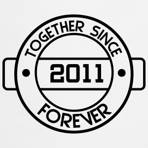 together since 2011 T-Shirts - Cooking Apron