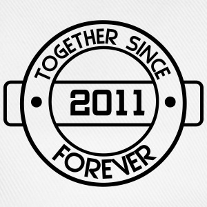 together since 2011 T-Shirts - Baseball Cap