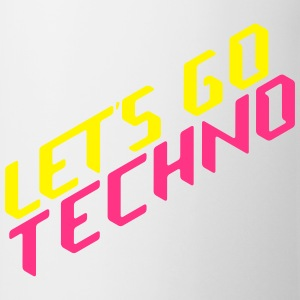let's go techno T-shirts - Kop/krus
