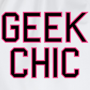 geek chic T-Shirts - Turnbeutel