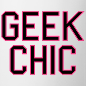 geek chic Tee shirts - Tasse