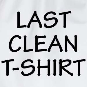 Last Clean T-Shirt T-Shirts - Drawstring Bag